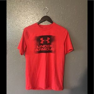 Under Armour red shirt